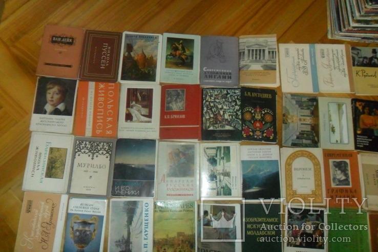 Открытки 1375 штук искусство музеи художники и др. наборы + немного города, фото №3