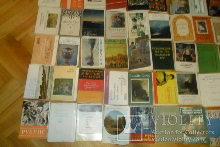 Открытки 1375 штук искусство музеи художники и др. наборы + немного города, фото №5