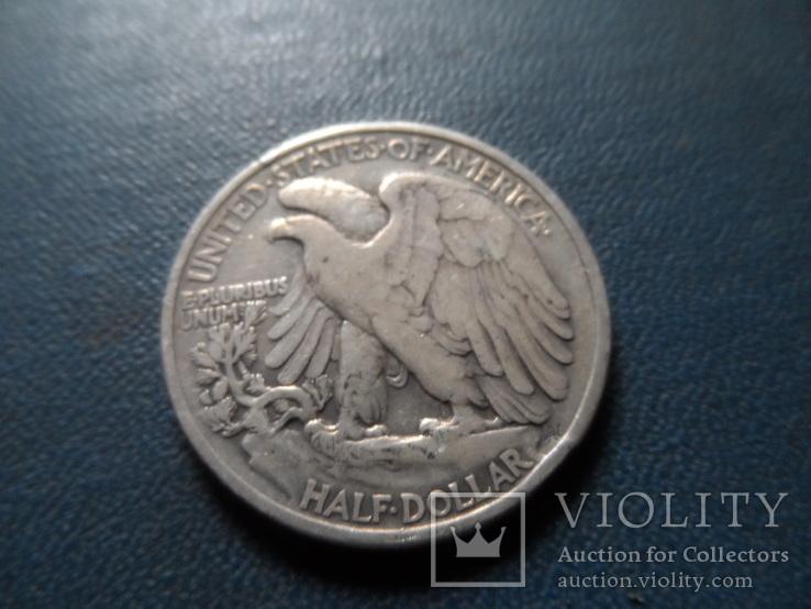 50 центов  1943 США  серебро      (Ж.4.5)~, фото №4