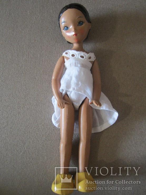 Старинная кукла Золушка рельефные волосы СССР, фото №4