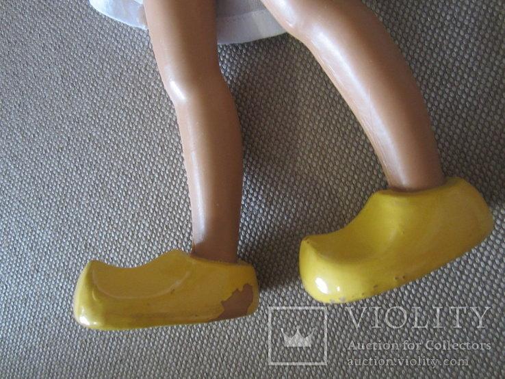 Старинная кукла Золушка рельефные волосы СССР, фото №5