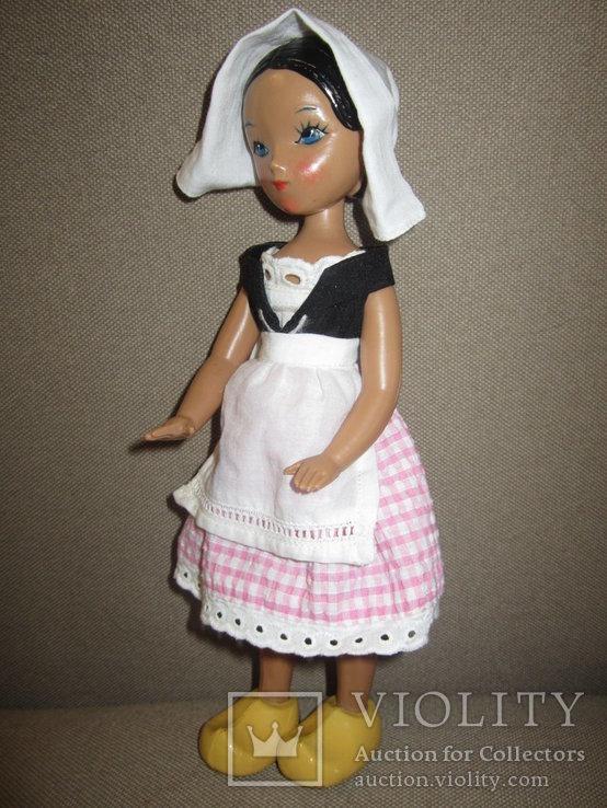 Старинная кукла Золушка рельефные волосы СССР, фото №7