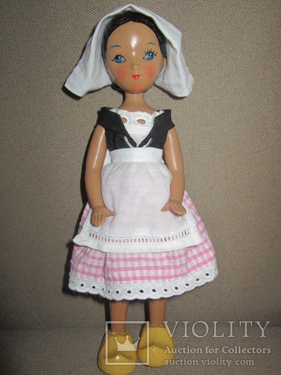 Старинная кукла Золушка рельефные волосы СССР, фото №8