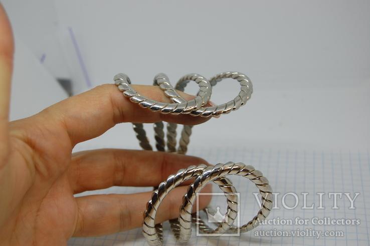 Широкий разжимной браслет, фото №9