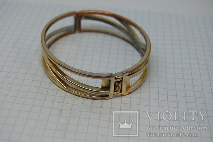 Разжимной браслет на жесткой основе, фото №7