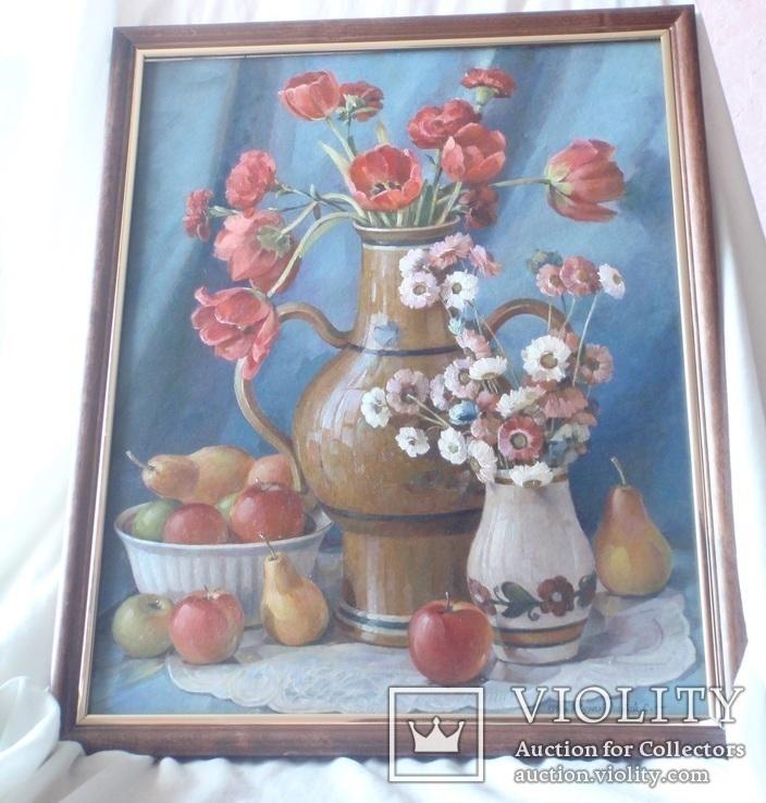 Картина «Натюрморт». Жураковський С.Ф., фото №3