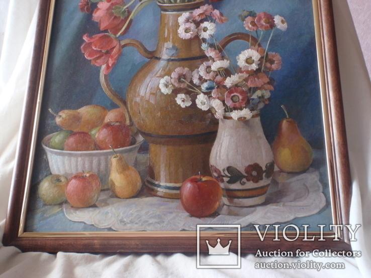 Картина «Натюрморт». Жураковський С.Ф., фото №5