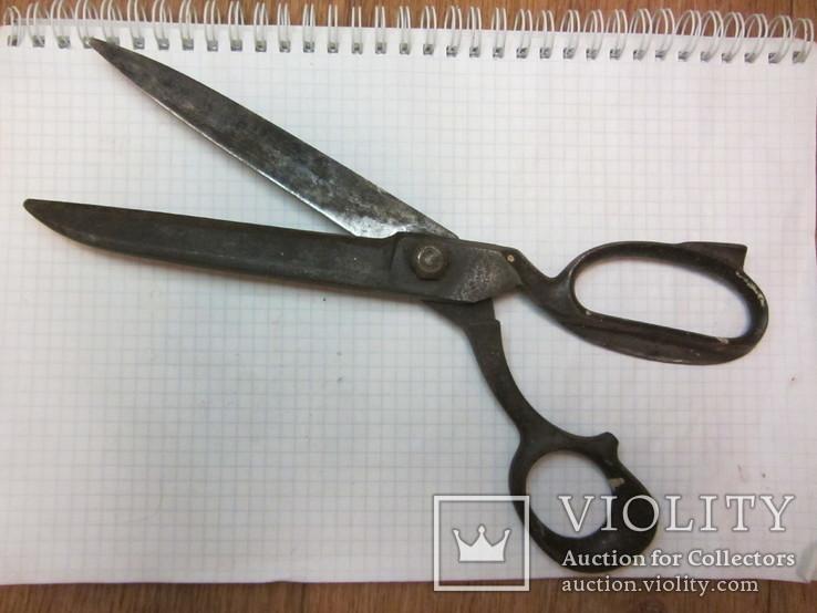 Старинные большие ножницы Германия, фото №3