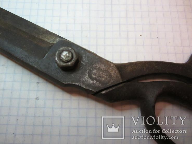 Старинные большие ножницы Германия, фото №9