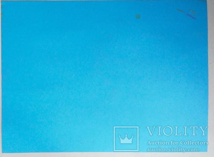 "2006,Одесса,Л.Войцехов ""Леда  и Лебедь"",бумага, цвет.карандаш, фото №3"