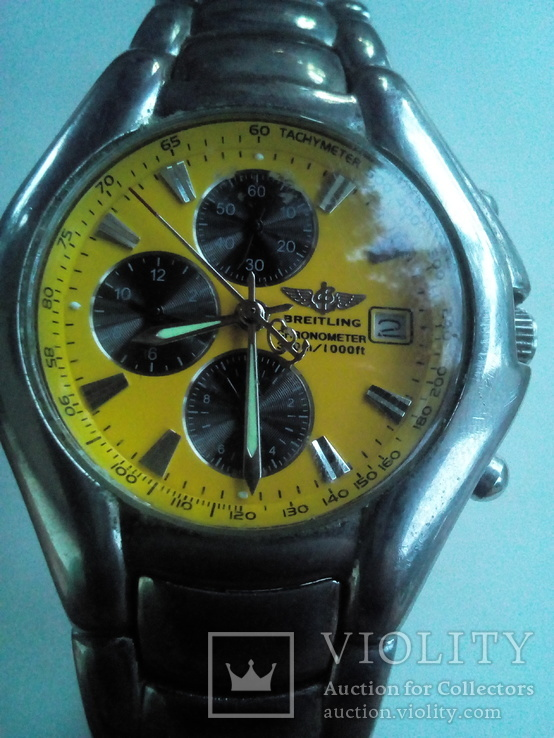 Часы похожие на Breitling. Кварцевые механизм Japan. Роб очие., фото №3