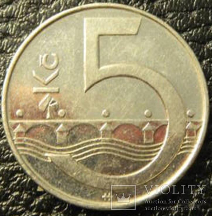 5 крон Чехія 2006, фото №2