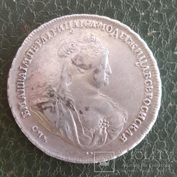 Рубль 1740 г.