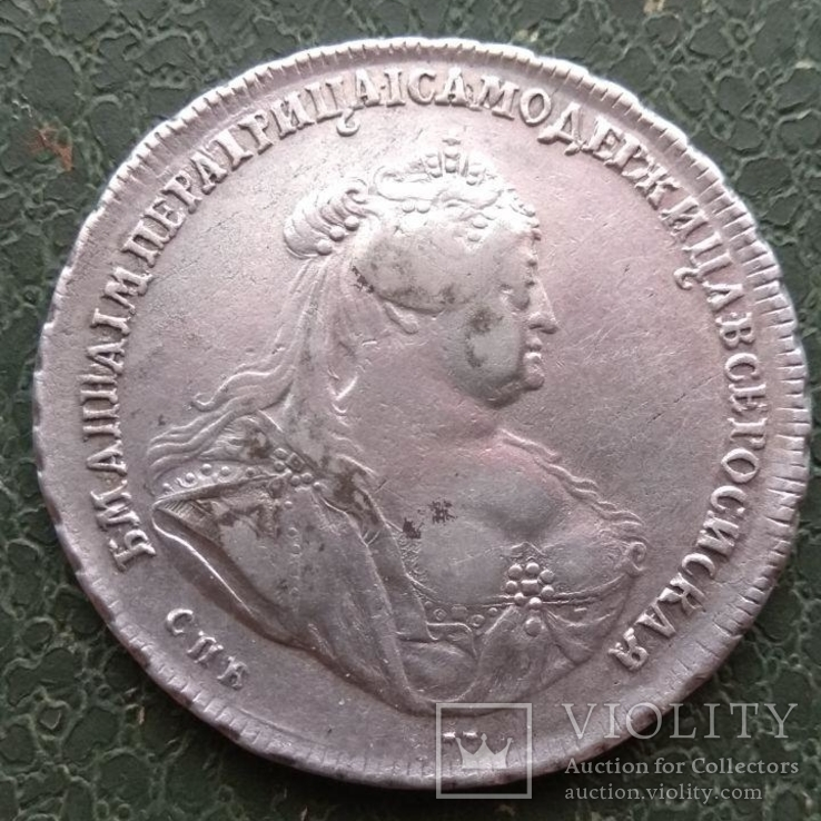 Рубль 1740 г., фото №4