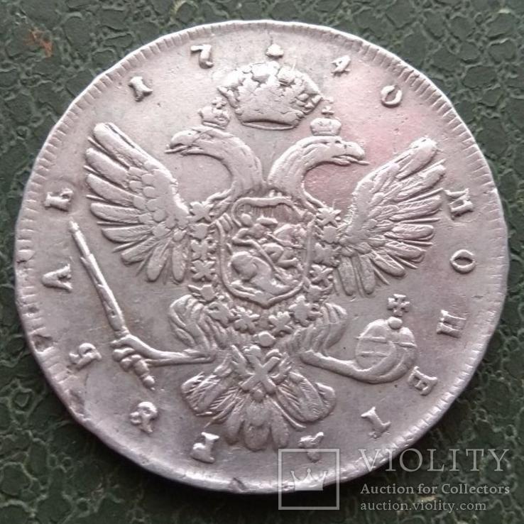 Рубль 1740 г., фото №6