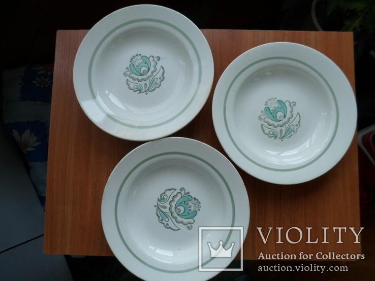 3 тарелки для борщу., фото №2