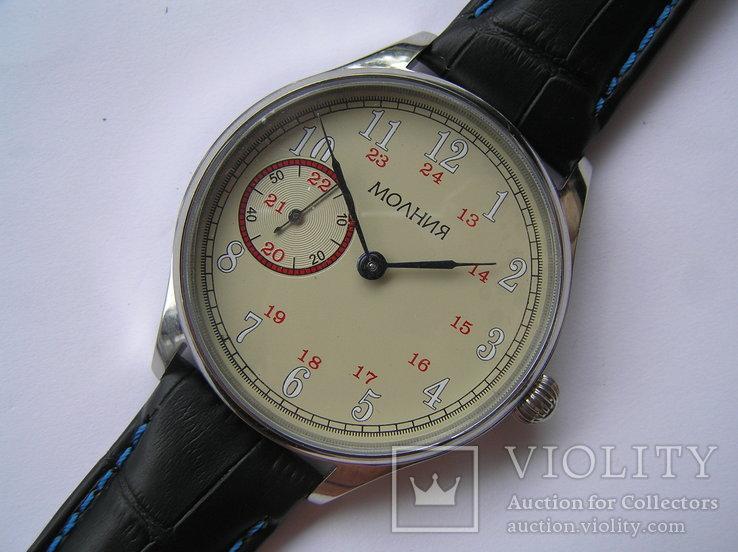 Часы Молния Марьяж 18 камней, фото №2