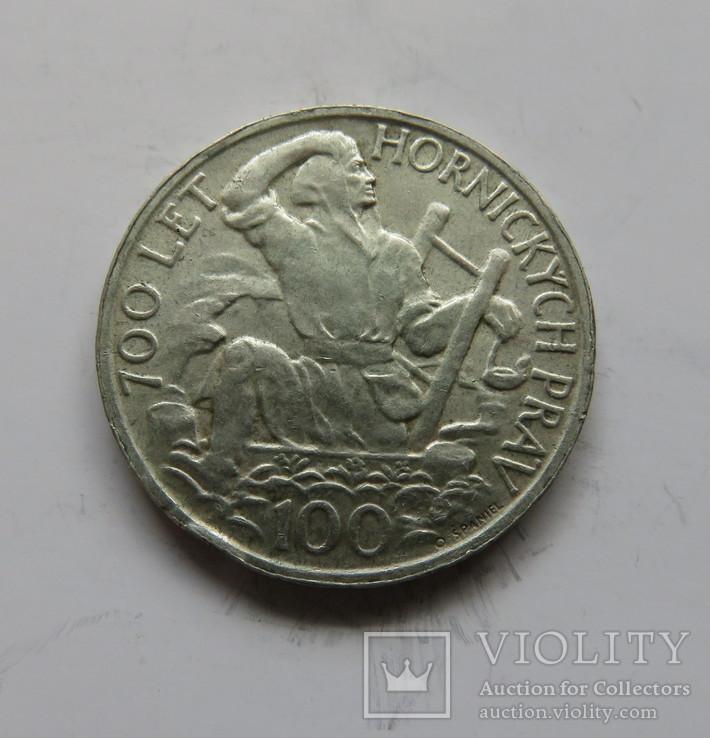 100 крон Чехословакия 1949 год, фото №2