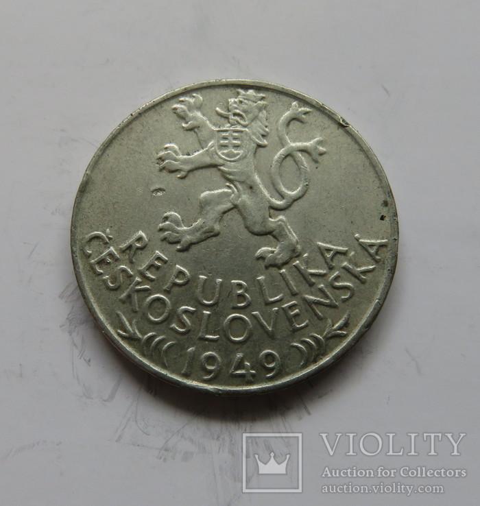 100 крон Чехословакия 1949 год, фото №3