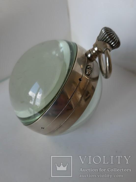Часы Лунник стеклянный шар, фото №3