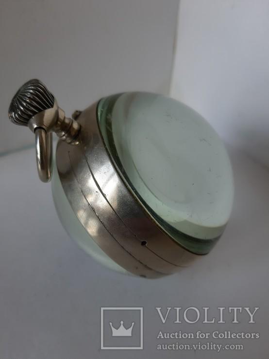 Часы Лунник стеклянный шар, фото №4