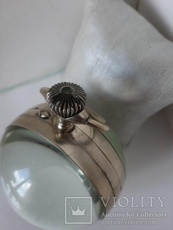 Часы Лунник стеклянный шар, фото №6