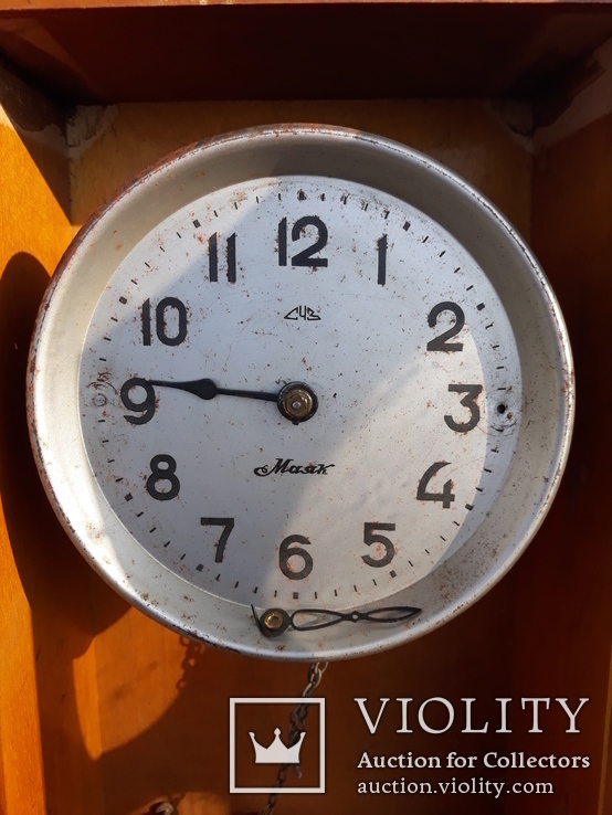 Настенные часы Гиревые СЧЗ Маяк, фото №6