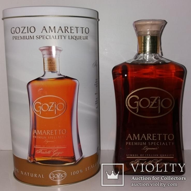 Ликер Amaretto Gozio Premium Speciality, Италия, фото №2