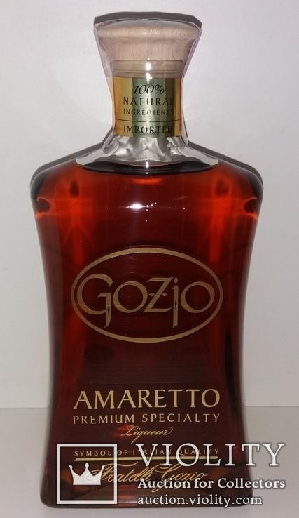 Ликер Amaretto Gozio Premium Speciality, Италия, фото №3