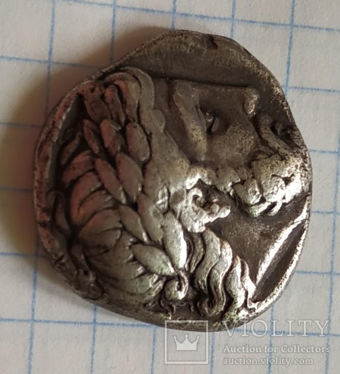 Тетрадрахма Филипп ll Македонский, фото №3