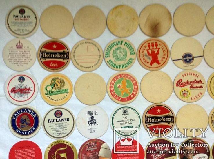 Костеры - бирдекели под пивные кружки и бокалы Германии и Чехии. 49 штук., фото №10