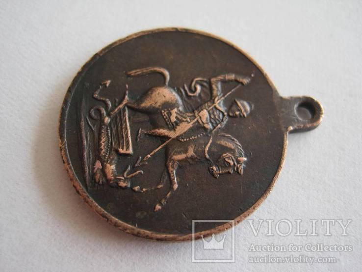 Красновская медаль За Храбрость 4 ст. 1096 Донское войско, фото №5