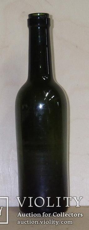 Бутылка винная, старая, фото №2