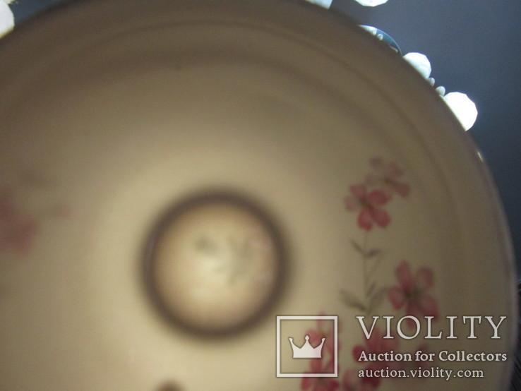 Сервиз чашки блюдца тарелки молочник чайник фарфор золочение Бавария Германия, фото №13