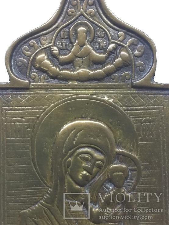 Икона иконка часть складня 10,5 на 7,5 см, фото №4