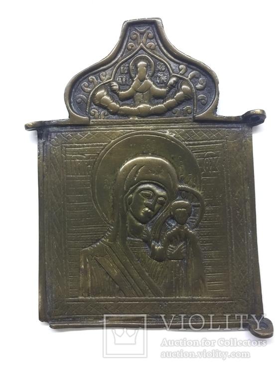Икона иконка часть складня 10,5 на 7,5 см, фото №12