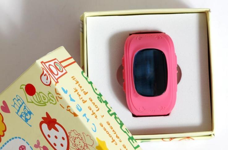 Детские GSM смарт-часы Q50. Розовые, фото №3