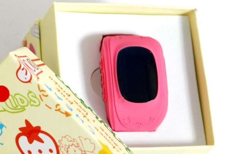 Детские GSM смарт-часы Q50. Розовые, фото №5