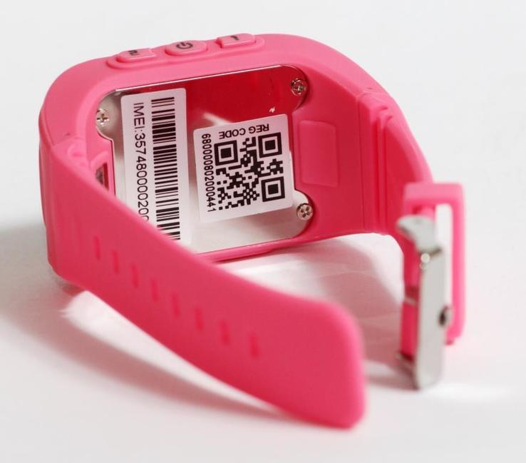 Детские GSM смарт-часы Q50. Розовые, фото №6