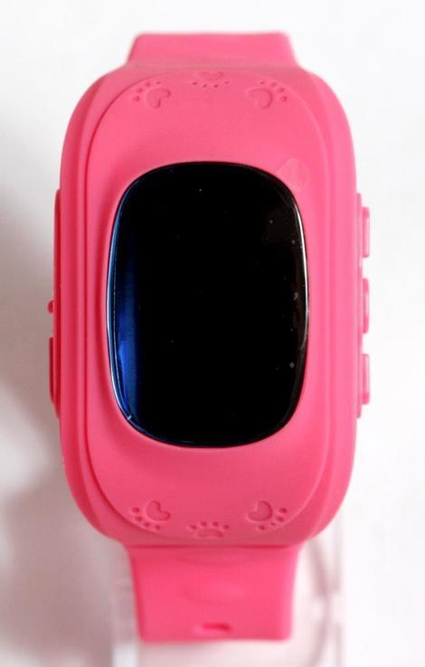 Детские GSM смарт-часы Q50. Розовые, фото №8