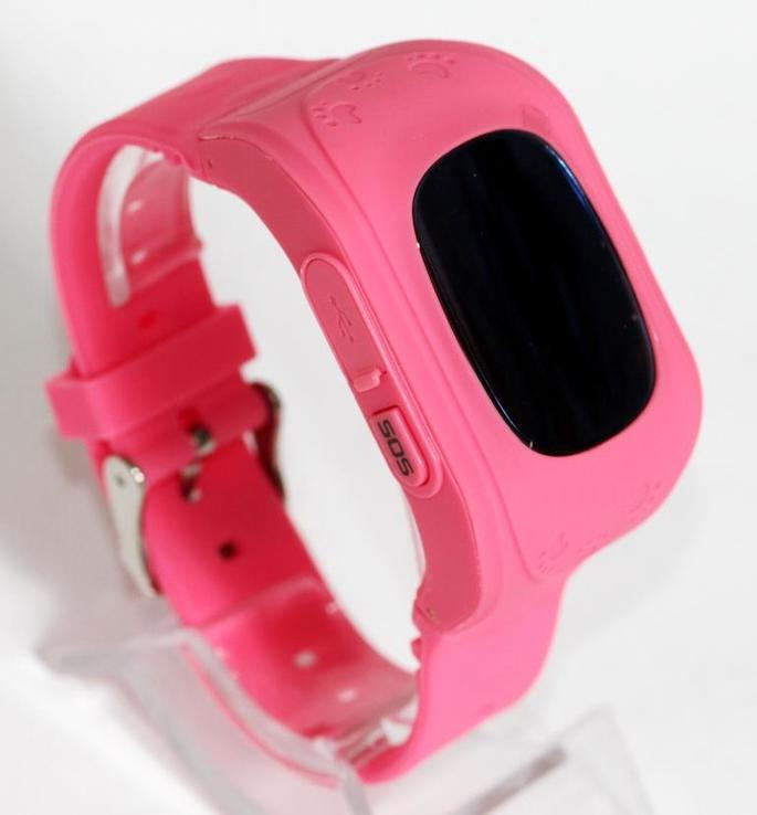 Детские GSM смарт-часы Q50. Розовые