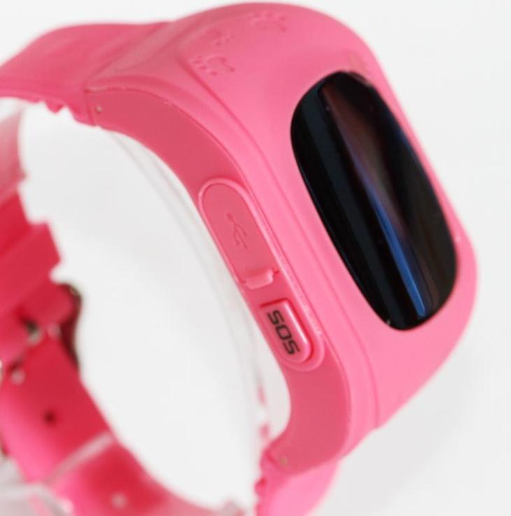 Детские GSM смарт-часы Q50. Розовые, фото №9