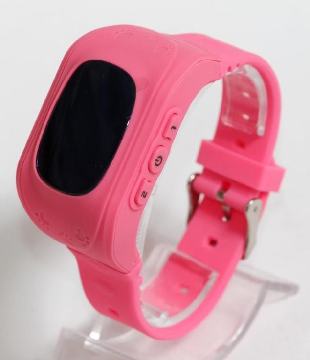Детские GSM смарт-часы Q50. Розовые, фото №10