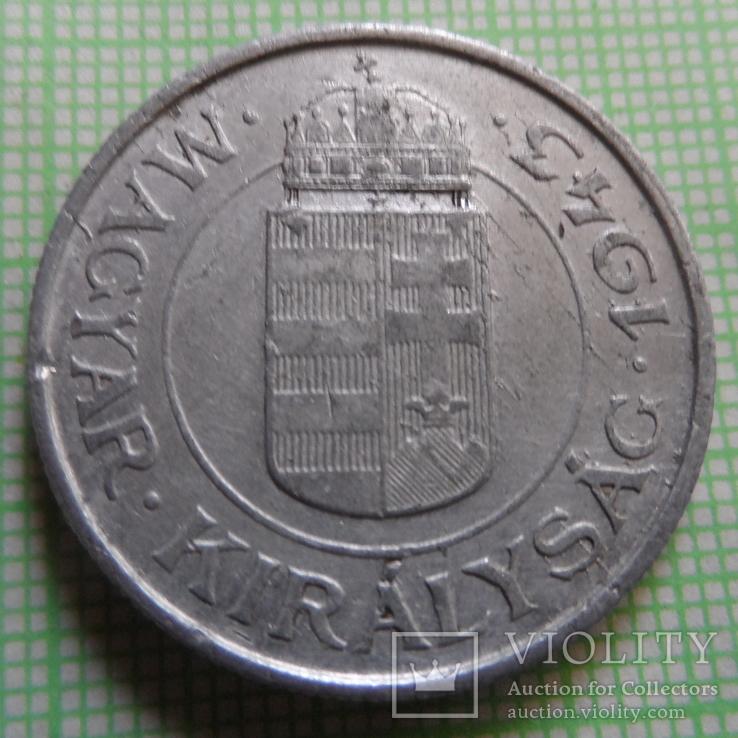 2  пенго 1943  Венгрия   (Р.3.27)~, фото №2