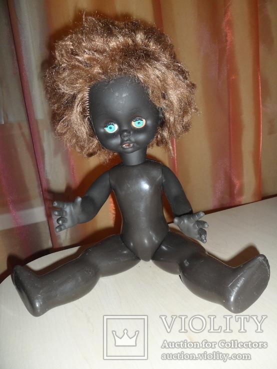 Кукла негритянка 40 см, фото №6