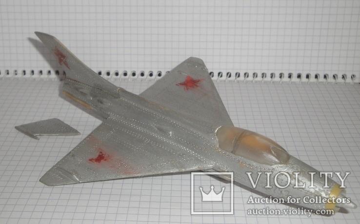 Самолёт СССР дерево ручная работа, фото №2