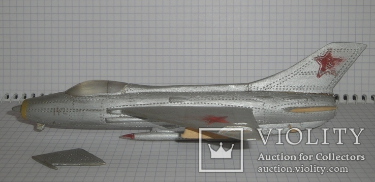 Самолёт СССР дерево ручная работа, фото №5