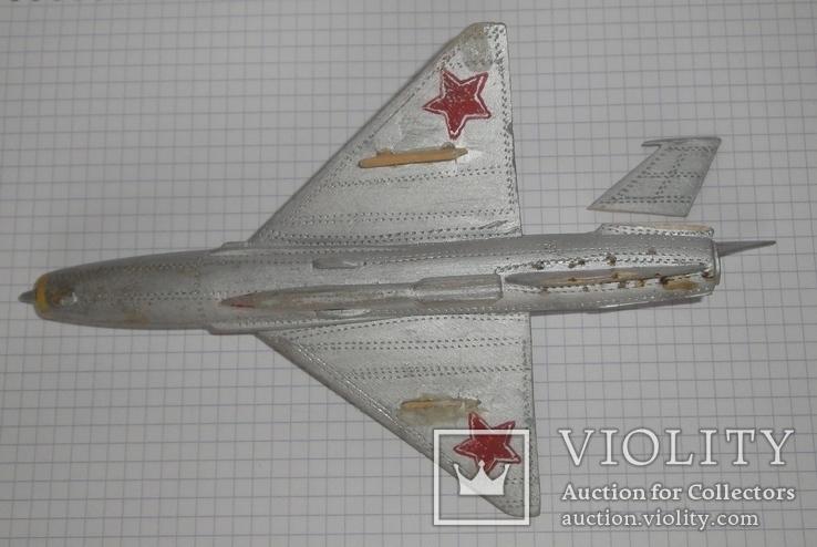 Самолёт СССР дерево ручная работа, фото №9