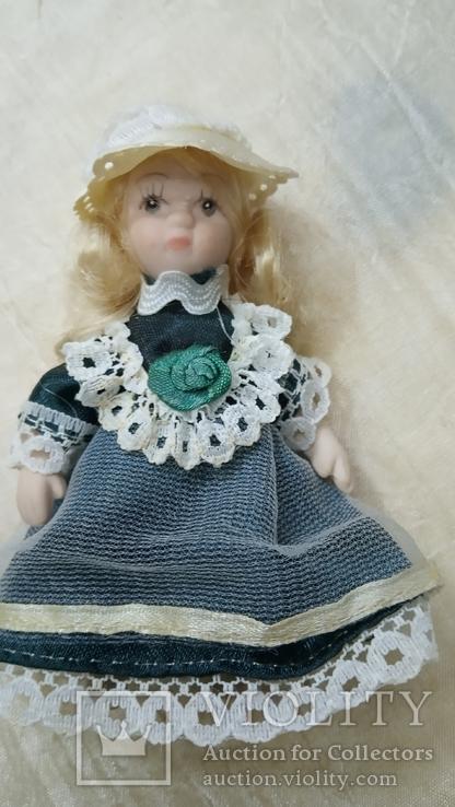 Фарфоровые мини куколки 8шт, фото №5