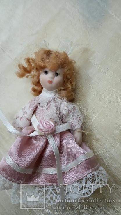 Фарфоровые мини куколки 8шт, фото №9